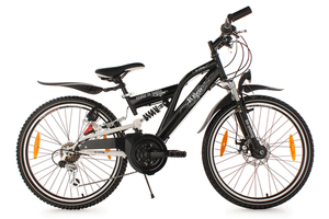 Kinderfahrrad 24'' B-Boy schwarz RH 36 cm KS Cycling