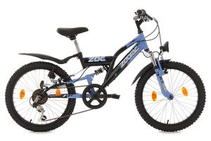 Kinderfahrrad 20'' Zodiac schwarz-blau RH 31 cm KS Cycling
