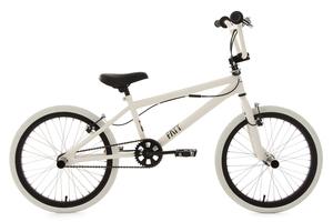BMX Freestyle 20'' Fatt weiß KS Cycling