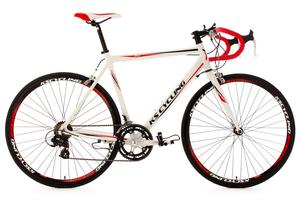 Rennrad alu 28'' Euphoria weiß RH 55 cm KS Cycling