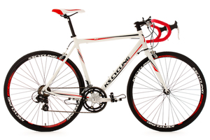 Rennrad alu 28'' Euphoria weiß RH 58 cm KS Cycling