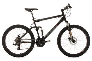 Mountainbike vollgefedert 26'' Insomnia schwarz RH 50 cm KS Cycling