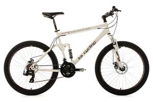 Mountainbike vollgefedert 26'' Insomnia weiß RH 50 cm KS Cycling