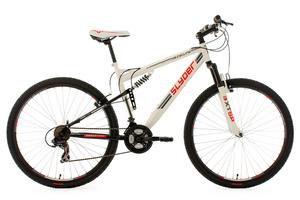 Mountainbike MTB Fully 29'' Slyder weiß RH 51 cm KS Cycling