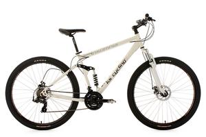 MTB vollgefedert 29'' Insomnia weiß RH 51 cm KS Cycling