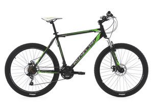 Mountainbike Hardtail MTB 26'' Sharp schwarz-grün RH 51 cm KS Cycling