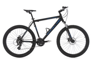 Mountainbike Hardtail 26'' GTZ schwarz-blau RH 51 cm KS Cycling