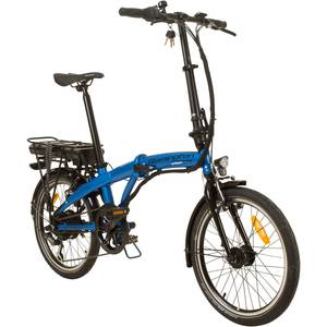 Remington Urban Folder 20 Zoll Faltrad E-bike Klapprad Pedelec StVZO Elektrofaltrad, Farbe:blau