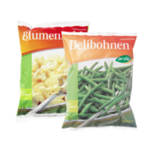 Ardo Broccoli, Blumenkohl oder Delibohnen