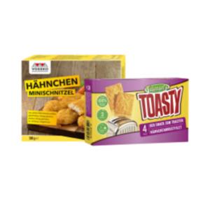 Tillman's Toasty Geflügel oder Vossko Hähnchen Schnitzel