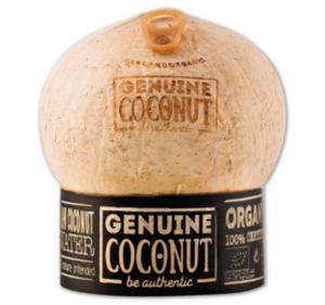 GENUINE Bio Trink-Kokosnuss