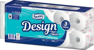 Favora XXL Toilettenpapier, 20 Rollen, 3-lagig
