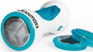 CLEANmaxx Fusselrasierer Deluxe 3V weiß/blau