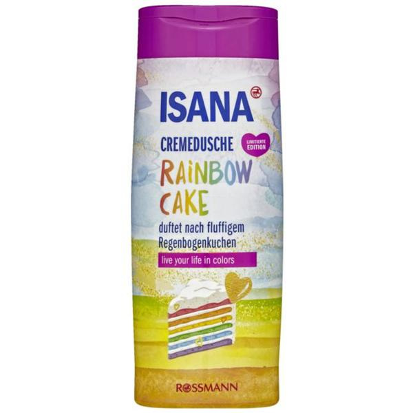 ISANA Cremedusche Rainbow Cake 1.83 EUR/1 l