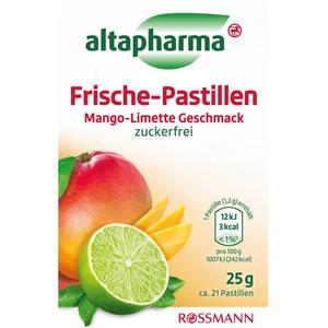 altapharma Frische-Pastillen Mango-Limette Geschmack 2.20 EUR/100 g