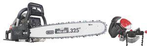 Scheppach CSP5300 Benzin-Kettensäge inkl. KS1200 Kettenschärfgerät