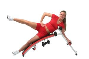 SPORTPLUS SP-SUB-001-W Sit-Up-bench