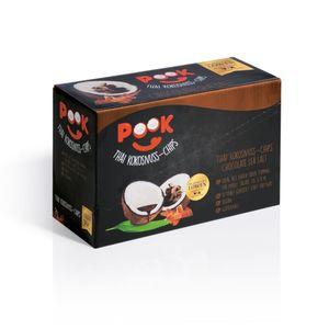 PooK Kokosnuss-Chips Chocolate Sea Salt 8er-Set (8x40g)