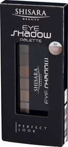 SHISARA Beauty Eyeshadow 6-er Palette 01 (Perfect Nude)