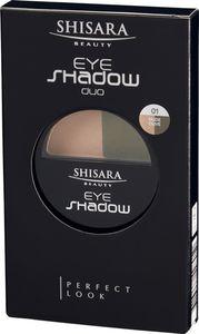 SHISARA Beauty Eyeshadow Duo 01 (Nude Olive)