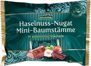Haselnuss-Nougat  in Vollmilchschokolade