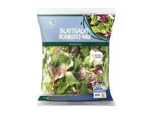 Blattsalat Rohkost-Mix