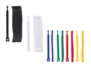 POWERFIX® Klett-Kabelbinder, 30-teilig