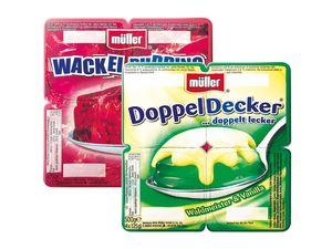 Müller Doppel-Decker/ Wackelpudding