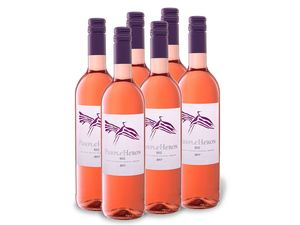 6 x 0,75-l-Flasche Purple Heron Rosé süß, Roséwein