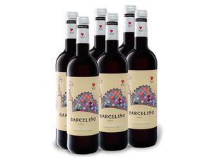 6 x 0,75-l-Flasche Weinpaket Barceliño Catalunya DO Barrica trocken, Rotwein
