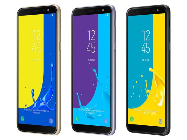 SAMSUNG Galaxy J6, 5.6 Zoll, 1.6 GHz OC, 32 GB, Dual-SIM