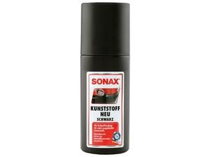 SONAX Kunststoff neu schwarz 100 ml