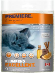 PREMIERE Excellent Klumpstreu, Orange-Zimt Duft