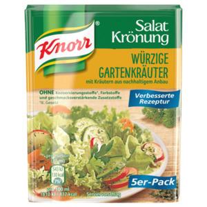 Knorr Salatkrönung oder Natürlich Lecker