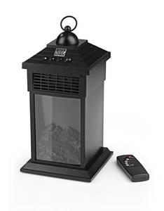 LED Laterne mit Flammeneffekt und Heizfunktion Easymaxx