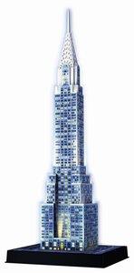 Ravensburger 3D Puzzle Chrysler Building mit LED