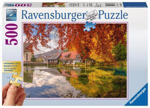Ravensburger Puzzle Gold Edition Mühle am Blautopf