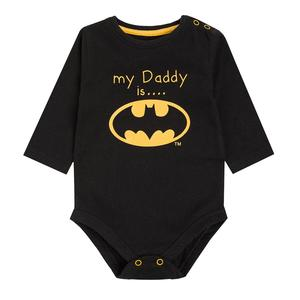 Baby Langarmbody Batman
