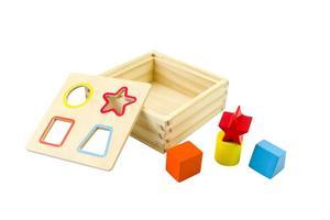 Sortierwürfel 4-teilig aus Holz