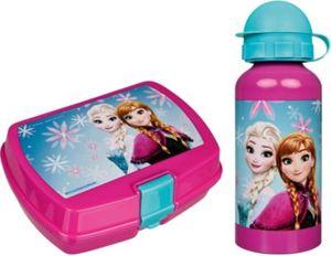 Pausenset Trinkflasche/Brotdose Disney Die Eiskönigin