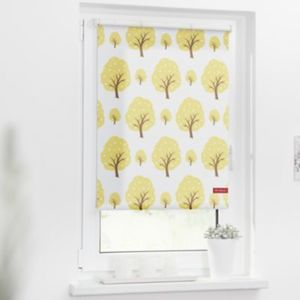 Rollo Klemmfix, ohne Bohren, Verdunkelung, Bäume Gr. 100 x 150