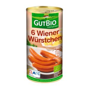 GUT BIO     6 Bio Wiener Würstchen