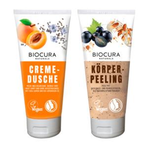 BIOCURA     Cremedusche / Körperpeeling