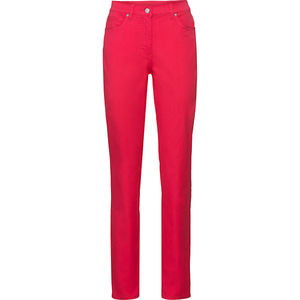 Adagio Damen Jeans, Kurzgröße, rot, 21
