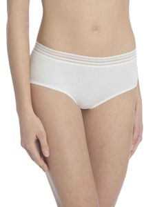Calida Panty, low cut, star white, weiß, XS