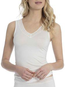 Calida Tank-Top, star white, weiß, XXS