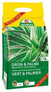 ASB Greenworld Grünpflanzen- /Palmenerde ,  10 l
