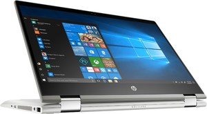 HP Pavilion x360 14-cd0603ng (4XF89EA) 35,6cm (14´´) 2 in 1 Convertible-Notebook mineral silver