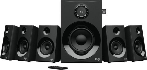Logitech Z607 5.1 Surround Speakers 5.1 A/V-Lautsprechersystem mit Aktiv-Subwoofer