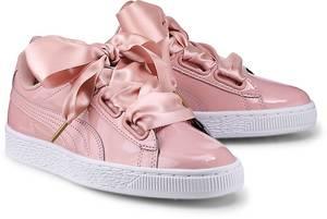 Basket Heart Patent von Puma in rosa für Mädchen. Gr. 37,41